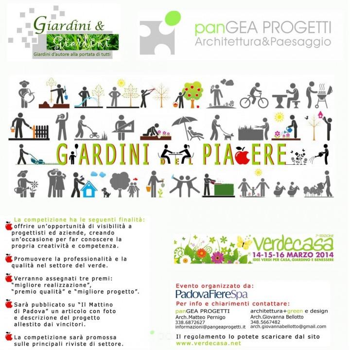 GIARDINI & giardini 2014 - PLEASURE GARDENS