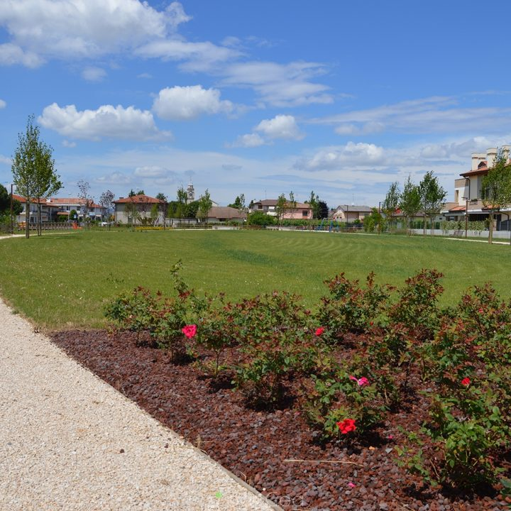 PUBLIC PARC OF MASERA' IS COMPLETED- PADOVA